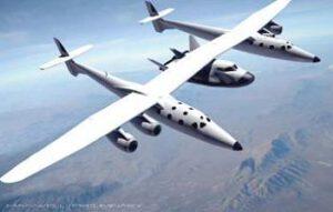 Takto měly původně probíhat drop testy Dream Chaseru. Z použití letounu WhiteKnightTwo nakonec sešlo.