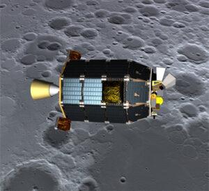 LADEE se usadí na orbitě Měsíce