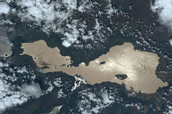 Sladkovodní etiopské jezero Abaya