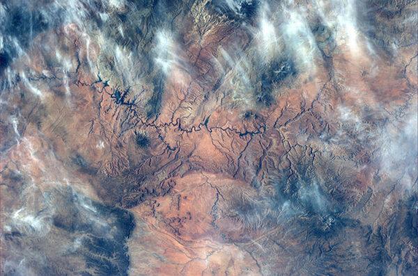 Zákruty řeky Colorado