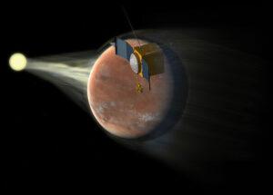 Jak Slunce ovlivňuje atmosféru Marsu? Snad nám MAVEN odpoví