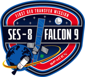 Logo mise SES-8