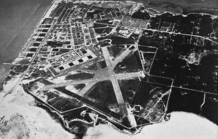 Základna Corpus Christi v roce 1947