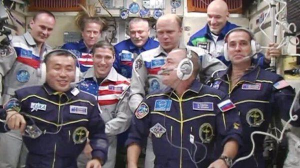 Aktuální posádka stanice