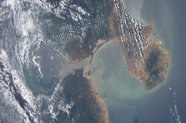 Venezuelské lagunové jezero Maracaibo