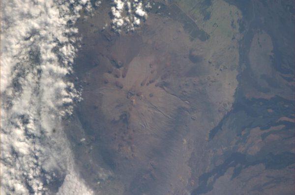 Havajská sopka Mauna Kea