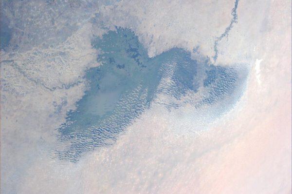 Vysychající jezero Čad