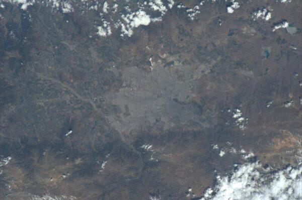 Hlavní město jihoamerického Chile - Santiago
