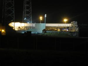 Den před startem vypadalo všechno růžově, Falcon 9 v1.1 se tedy vydal na startovní rampu.