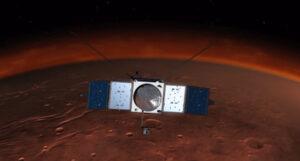 Sonda MAVEN dorazí k Marsu na začátku listopadu 2014.