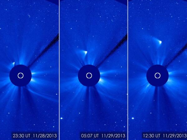 Snímky z družice SOHO