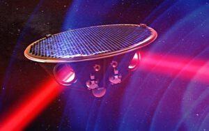 Jeden ze tří elementů první gravitační observatoře v historii.
