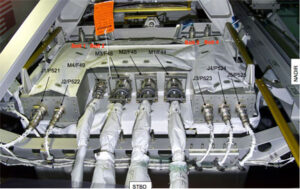 Detail amoniakové pumpy
