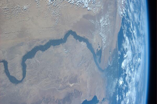 Fotograficky mimořádně vděčný objekt - Nil