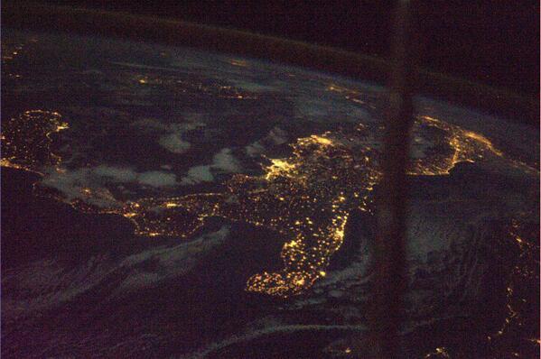 Noční Itálie