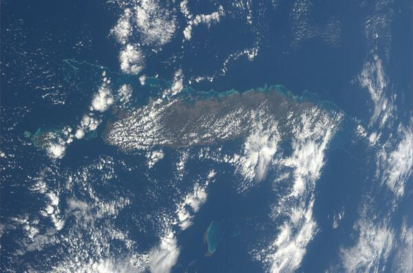 Nvá Kaledonie v jihovýchodní Melanésii