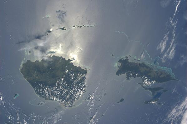 Souostroví Fidži z Oceánie