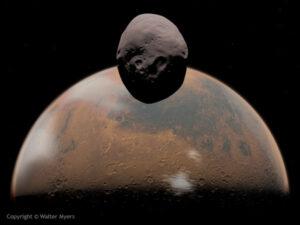 Phobos a Mars