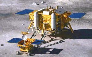 Vozítko sjelo z přistávacího landeru