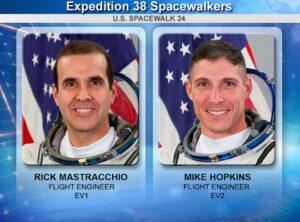 Dvojice astronautů, která opravovala poškozený chladící systém