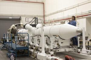 Záchranná věžička pro Orion - systém LAS