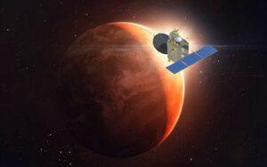 Mangalyaan na oběžné dráze Marsu