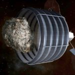 Zachycení asteroidu sondou zdroj:nasa.gov