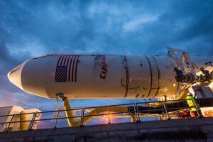 Raketa Antares s lodí Cygnus