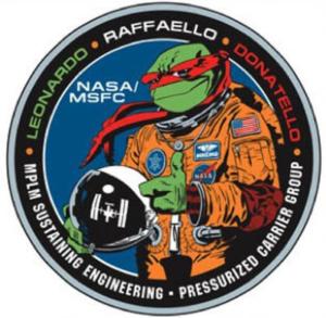 Oficiální logo víceúčelových logistických modulů MPLM.