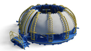 Vizualizace Circumferential Dome Weld Tool
