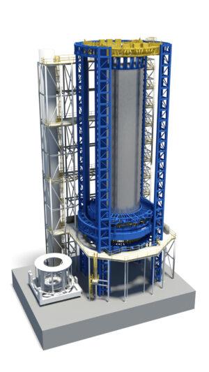 Vizualizace Vertical Assembly Center