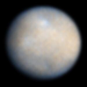 Zatím nejdokonalejší fotka planetky Ceres, jakou máme k dispozici.