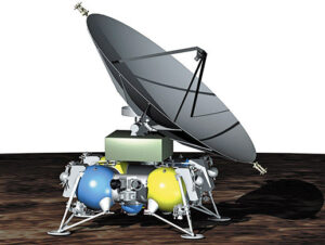Možná podoba landeru Laplas-P