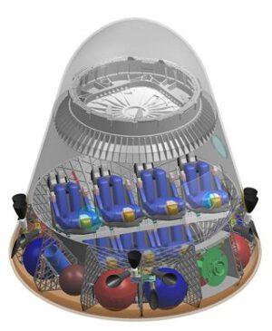 Kosmická loď DragonRider od SpaceX by měla na oběžnou dráhu dopravit až sedm astronautů.