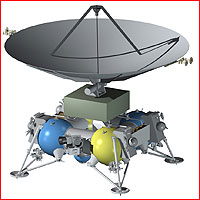 Vzhled landeru plánovaný v roce 2013