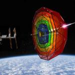 Štít chránící ISS zdroj:satellitetoday.com