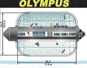 Návrh nafukovacího modulu Olympus