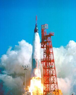Atlas-Mercury s Johnem Glennem na palubě