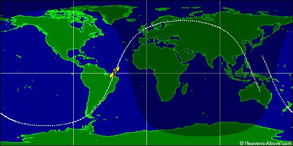 Oběžná dráha družice Kosmos 1220