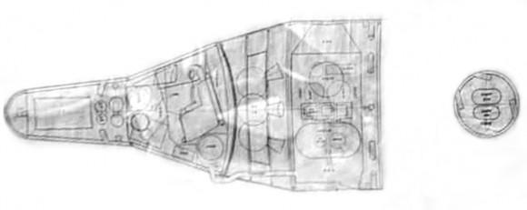 Nákres lodi Shuguang zdroj:danielmarin.naukas.com