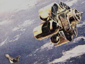 Detailní kresba stupně TRS.