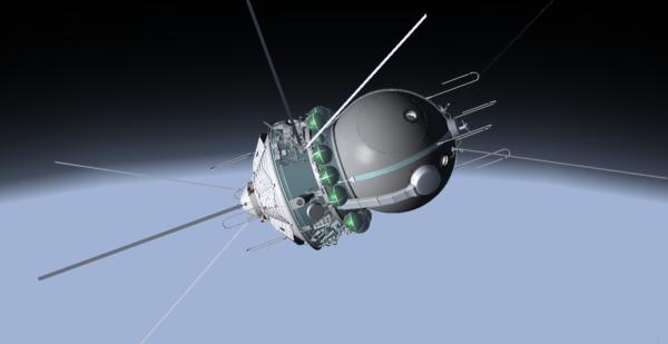 Model Vostoku 6
