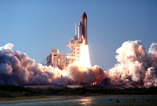 Start mise STS-95 - Discovery