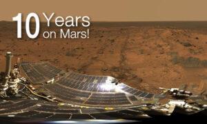 Deset let na Marsu