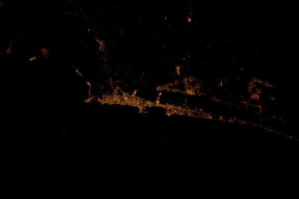 Egyptský přístav Alexandrie