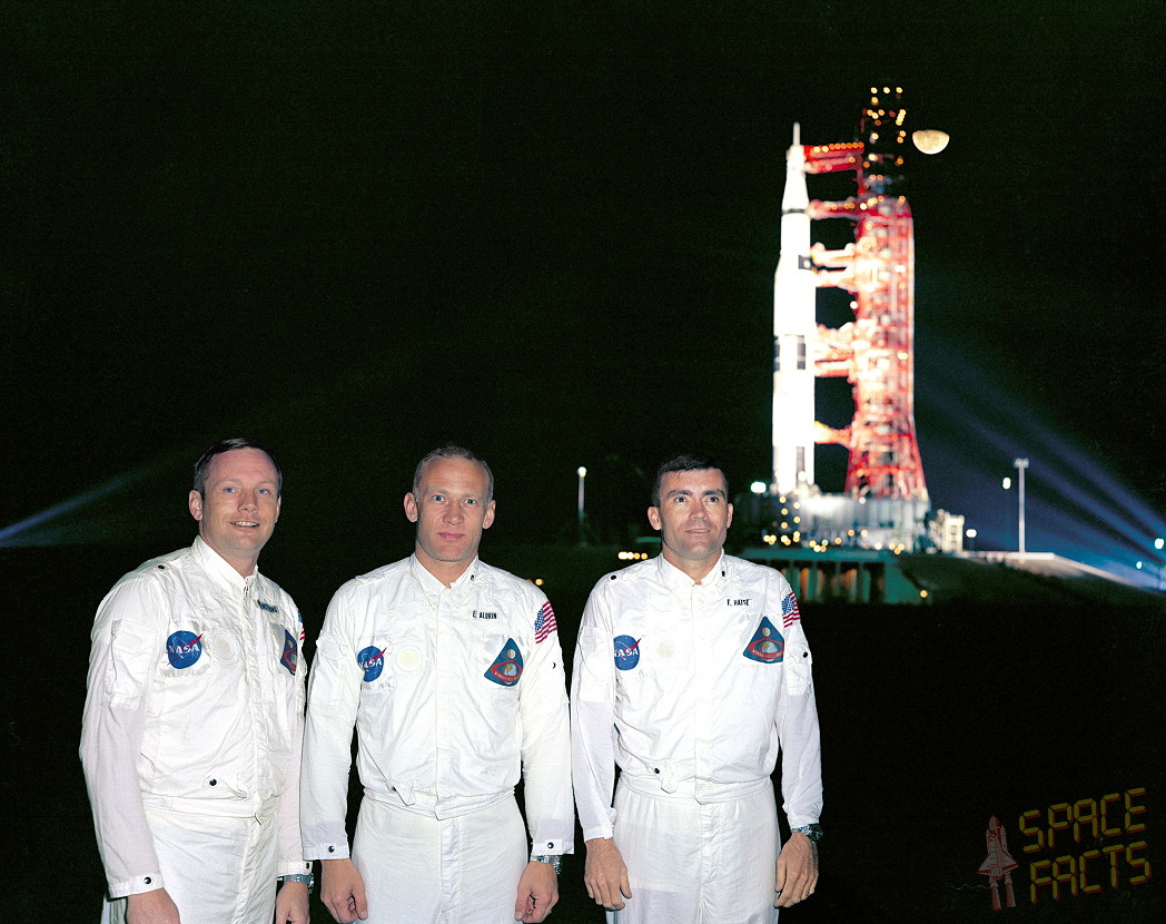 Záložní posádka Apolla-8: Armstrong, Aldrin, Haise