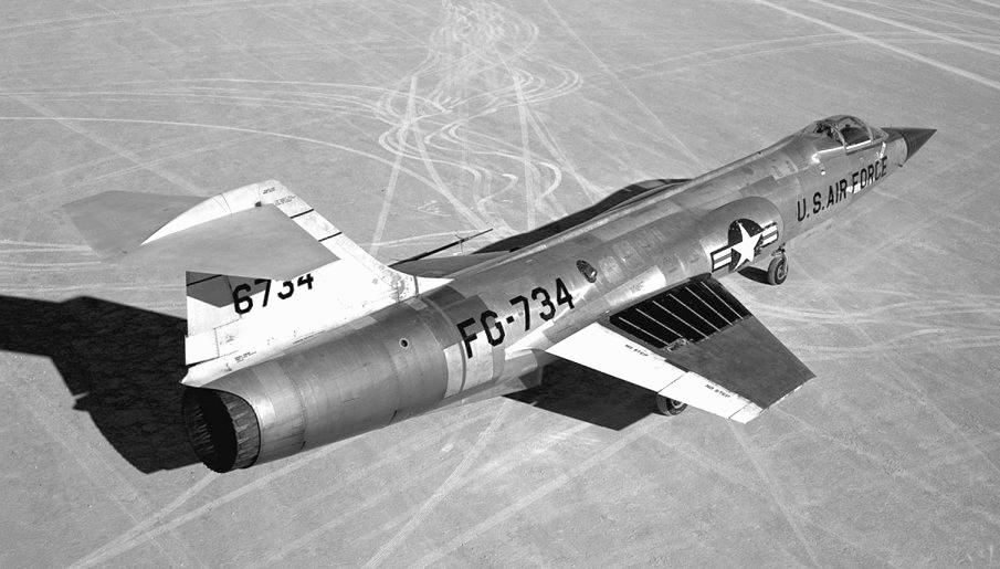 Fenomenální F-104 Starfighter