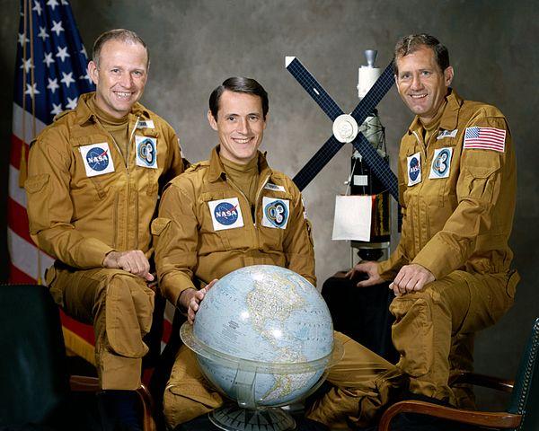 Posádka SL-4: (zleva) Carr, Gibson, Pogue