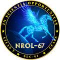 Logo mise NROL-67
