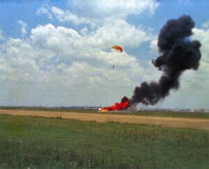 Armstrongova katapultáž z LLRV
